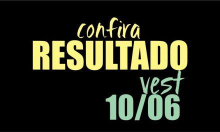 Resultado Vest 2018/2 Prova 10/06