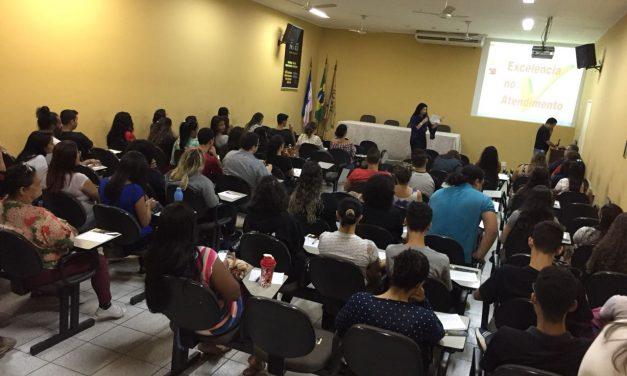 Palestras aos estagiários da Prefeitura de Cariacica