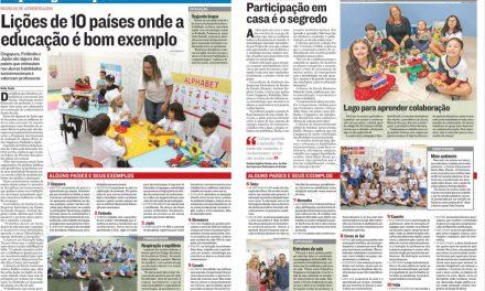 Na Mídia: crise infantil, modelos de aprendizagem e mais