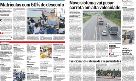 Na Mídia: descontos, crimes e mais