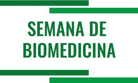 Vem aí a XIV Semana de Biomedicina