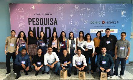 Alunos e Professores participam do Conic em São Paulo