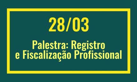 PIO XII sediará palestra sobre registro  profissional