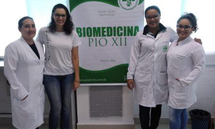 Biomedicina em ação na empresa Consigaz