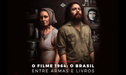 """Cine cultura """"1964: o Brasil entre armas e livros"""""""