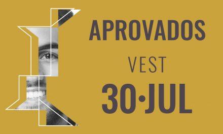 Aprovados VEST 30-Julho