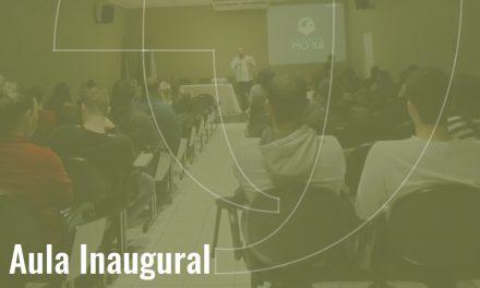 PIO XII promove aula inaugural para os calouros 2019/2