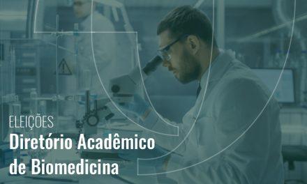 Eleições – Diretório Acadêmico de Biomedicina