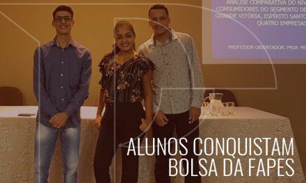 A Faculdade PIO XII conquista bolsa da FAPES