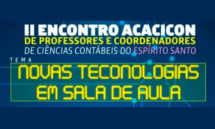 II ENCONTRO ACACICON DE PROFESSORES E COORDENADORES