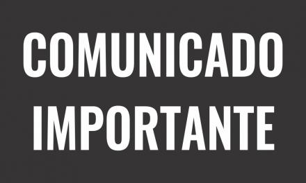 Atenção Alunos – Comunicado Importante