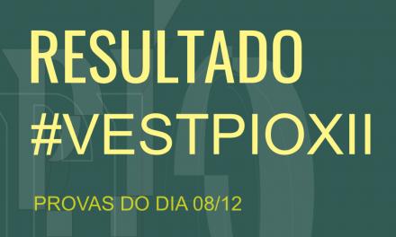 #VESTPIOXII 2020/1 LISTA DE APROVADOS!