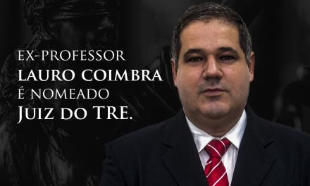 Ex-professor da PIO XII é nomeado Juiz do TRE