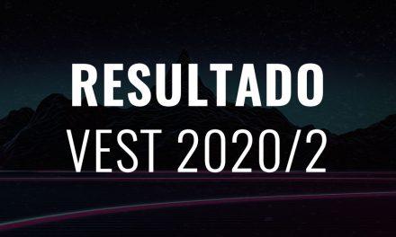 #VESTPIOXII 2020/2 LISTA DE APROVADOS. CONFIRA!