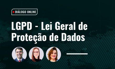Coord. de Direito promove Diálogo on-line sobre a Lei Geral de Proteção de Dados Pessoais