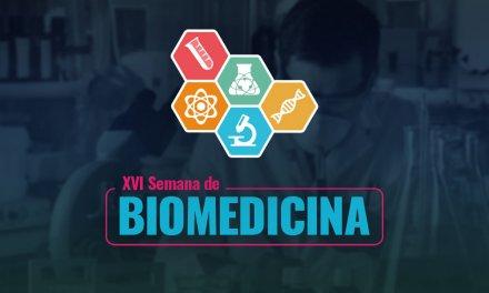 PIO XII promove a XVI Semana de Biomedicina