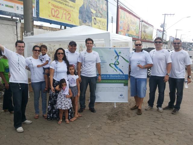 Equipe da PIO XII comparece em peso para apoiar alunos no ENADE