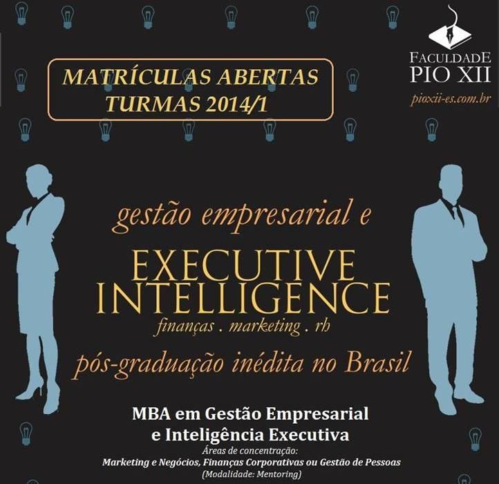MBA da PIO XII está com matrículas abertas