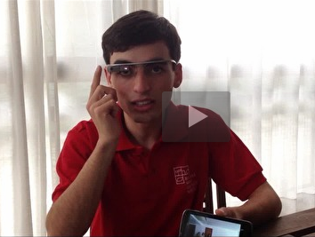 Estudante de Biomedicina é o único Brasileiro selecionado para ajudar no Google Glass