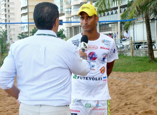 Rodrigo Lacraia concede entrevista ao ESTV 1ª Edição