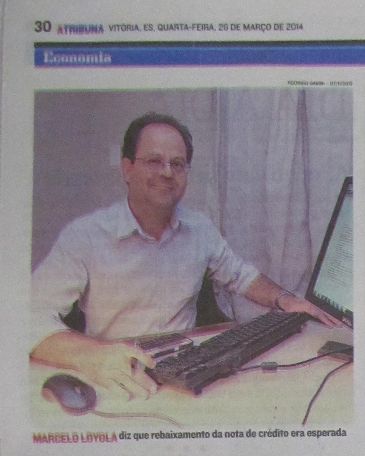 Professores da PIO XII no jornal A Tribuna