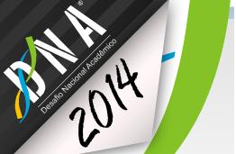 Inscrições abertas para o DNA 2014
