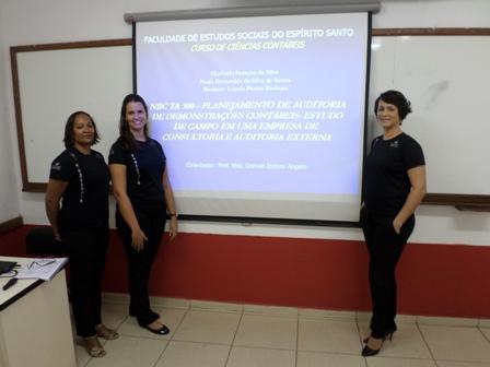 Acadêmicos da PIO XII apresentam TCC