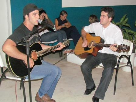 Quarta Cultural de rock com Jhonata e Christian