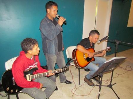 """Trio Prazer do Amor anima a """"Quarta Cultural"""""""