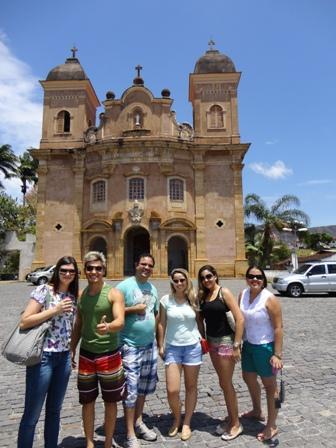 Alunos da PIO XII viajam para Ouro Preto e Mariana