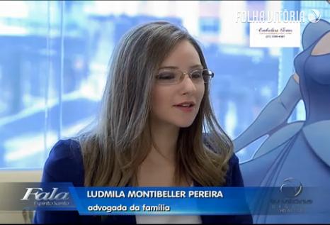Professora Ludmila Montibeller fala sobre adoção de crianças em programa de TV