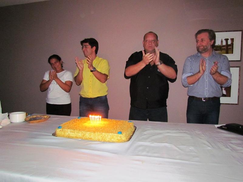 Quinta-feira de comemoração com aniversariantes da PIO XII