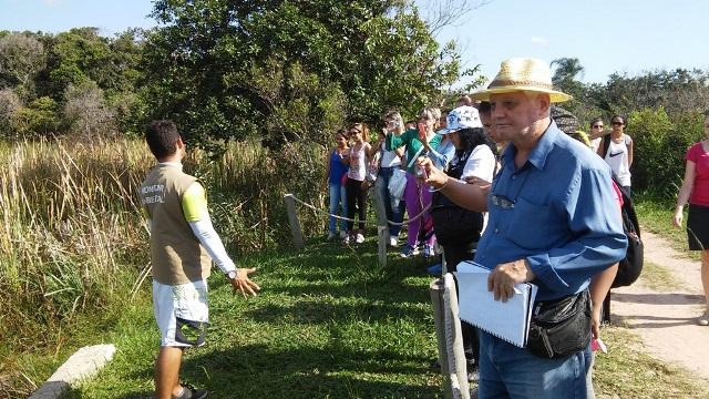 Alunos de Biomedicina realizam visita a Parque Estadual Paulo Cesar Vinha