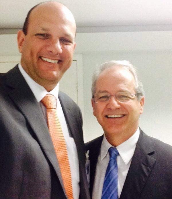 Professor Rivelino Amaral visita Vice-Governador