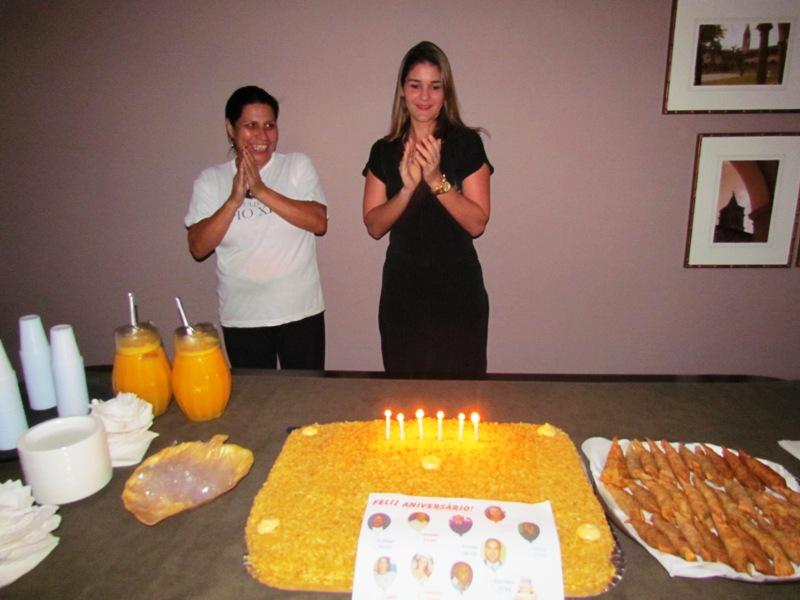Colaboradores da PIO XII comemoram com aniversariantes de setembro