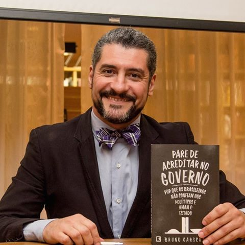 Autor de Best-seller Bruno Garschagen estará na PIO XII nesta quarta-feira