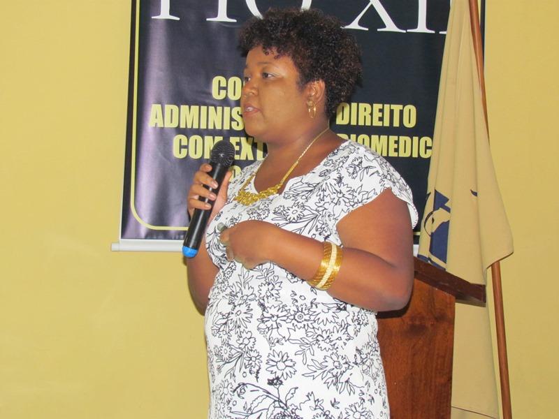 Segunda dia da Semana de Biomedicina conta com palestra ministrada pela Doutora Tarsila Daysy