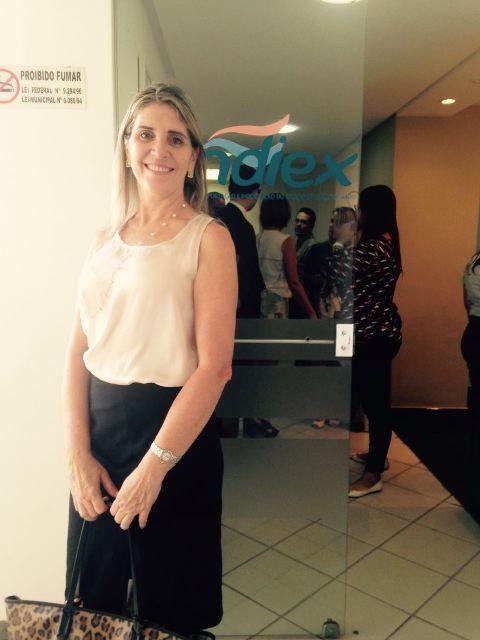 Coordenadora participa de 9º Café com Direito, do Sindiex