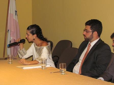 Promotora e Advogado fecham 7º Seminário de Carreiras Jurídicas