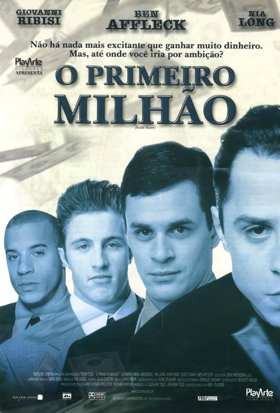"""Cine Cultura apresenta """"O primeiro milhão"""" nesta sexta-feira"""