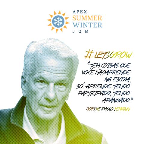 Winter Job – Estágio de Férias na APEX Partners