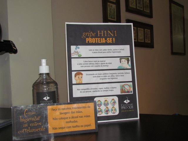 PIO XII lança campanha de prevenção à gripe H1N1