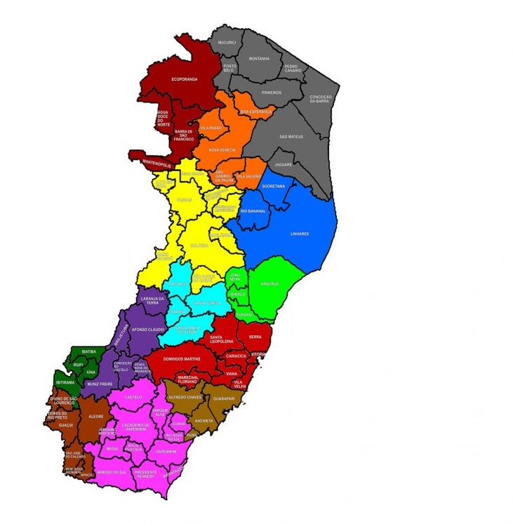 Espírito Santo perde 14 municípios na lista do novo mapa turístico
