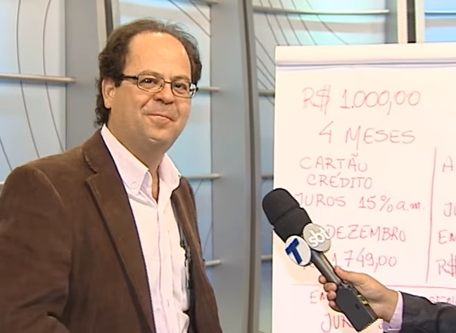 Coordenador concede entrevista na TV Tribuna sobre adiantamento do 13º salário