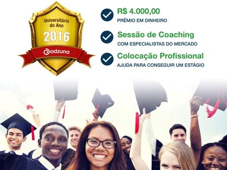 Alunos da PIO XII podem se inscrever em competição internacional Universitário do Ano