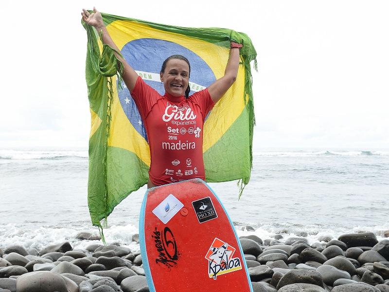 Neymara Carvalho vence etapa do Europeu em Portugal