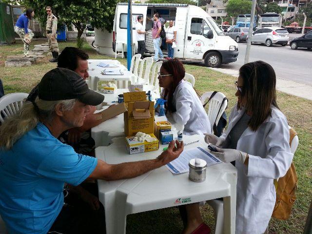 """Biomedicina entra em ação no evento do Sest Senat """"Saúde nos Portos"""""""