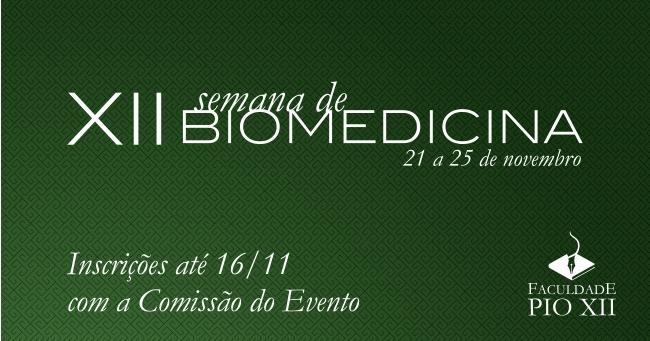 Inscreva-se para a Semana de Biomedicina