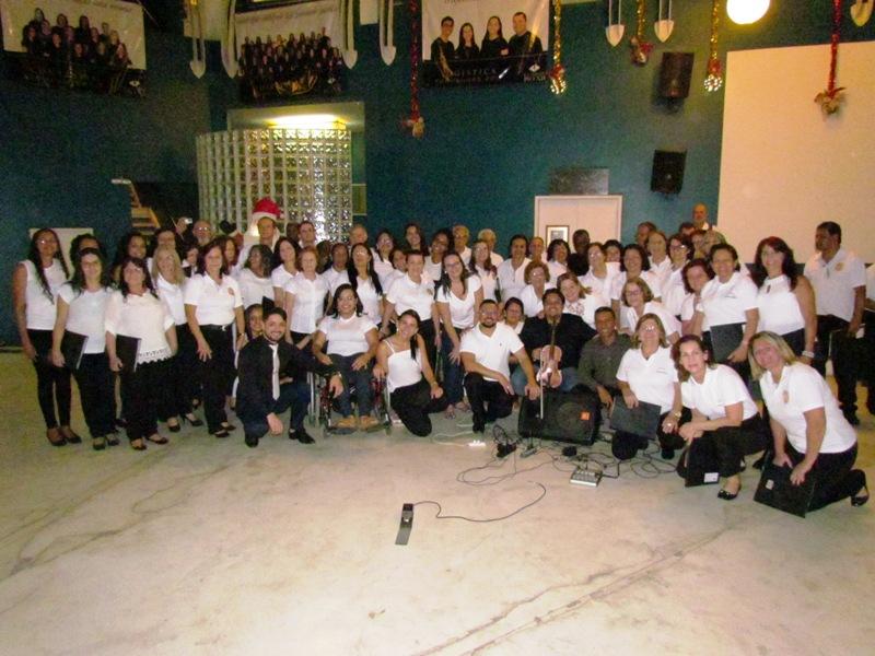 Coral PIO XII marcará presença em grande Cantata de Natal
