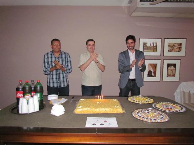 PIO XII comemora com aniversariantes de novembro